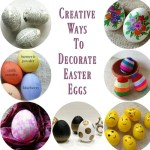 11 Creative Ways to Decorate Easter Eggs