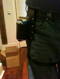 Beer Holster Front View