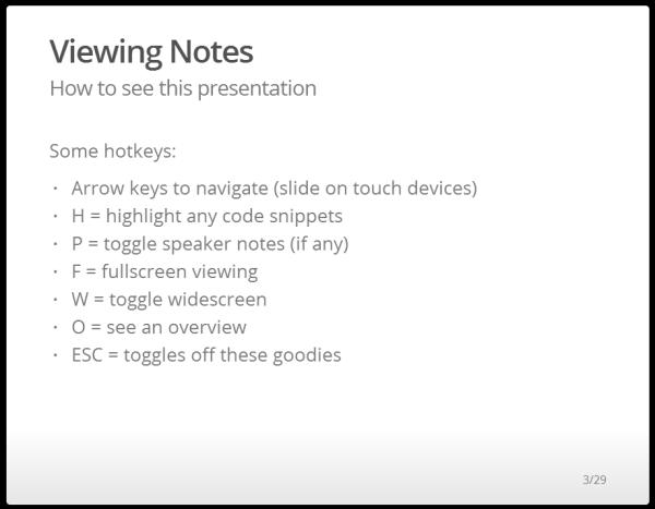 Instructional Slide