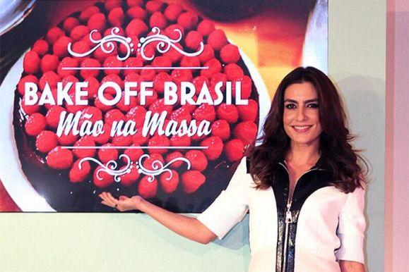 """Ticiane comanda o """"Bake Off Brasil"""" (Foto: Divulgação)"""