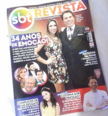 """Primeira edição da """"SBT Revista"""" (Foto: Reprodução / Instagram)"""