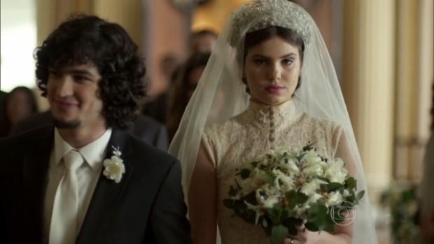 """Guilherme e Angel em cenas finais de """"Verdades Secretas""""; trama terminou com alta audiência (Foto: Reprodução/Globo)"""