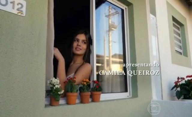 Cena do primeiro capítulo da trama em Sorocaba. (Foto: Reprodução/TV Globo)