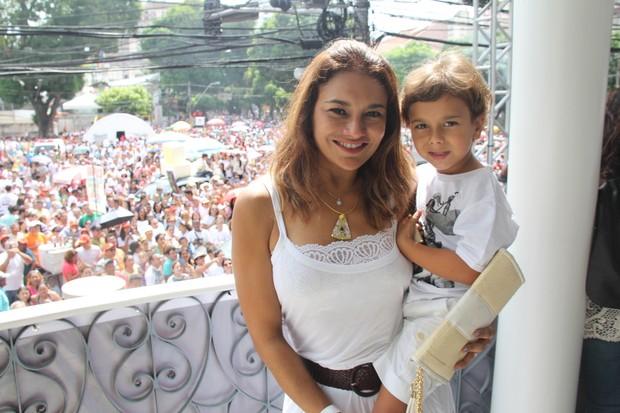 Atriz já é mãe de Inácio. (Foto: Wesley Costa / AgNews)
