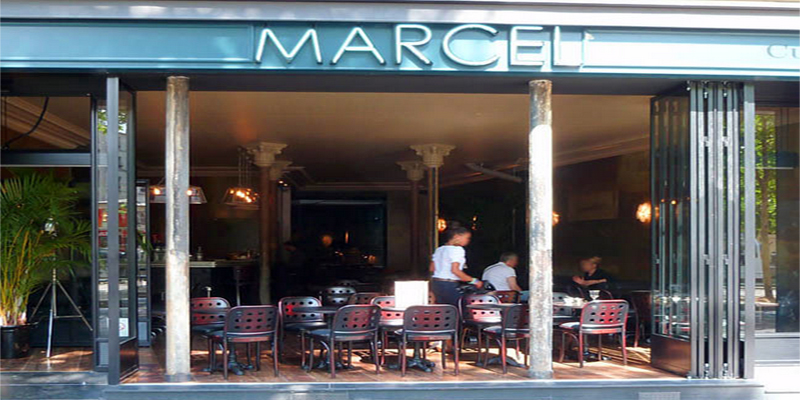 Restaurant Paris Terrasse Brunch Café Marcel (75010 Paris) - Oubruncher