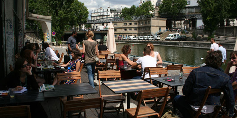 Brunch Terrasse Paris Brunch Le Point Ephemere (75010 Paris) - Oubruncher