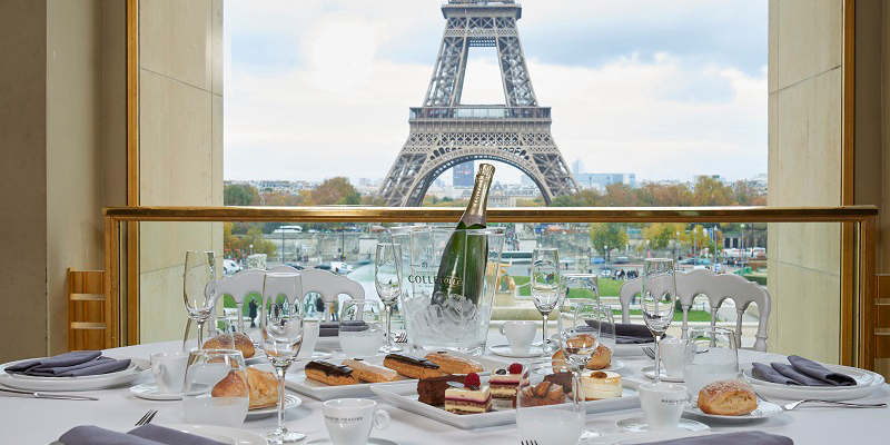 Restaurant Terrasse Paris 6 Brunch Maison Pradier (75016 Paris) - Oubruncher