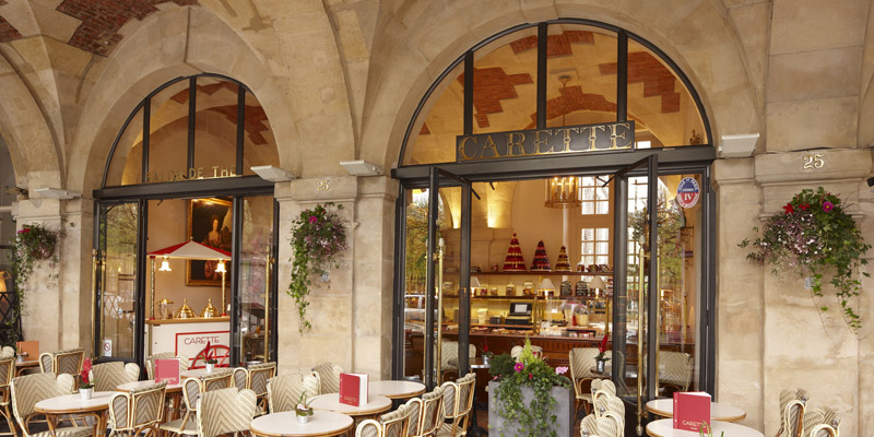 Brunch Terrasse Paris Brunch Carette Place Des Vosges (75003 Paris) - Oubruncher