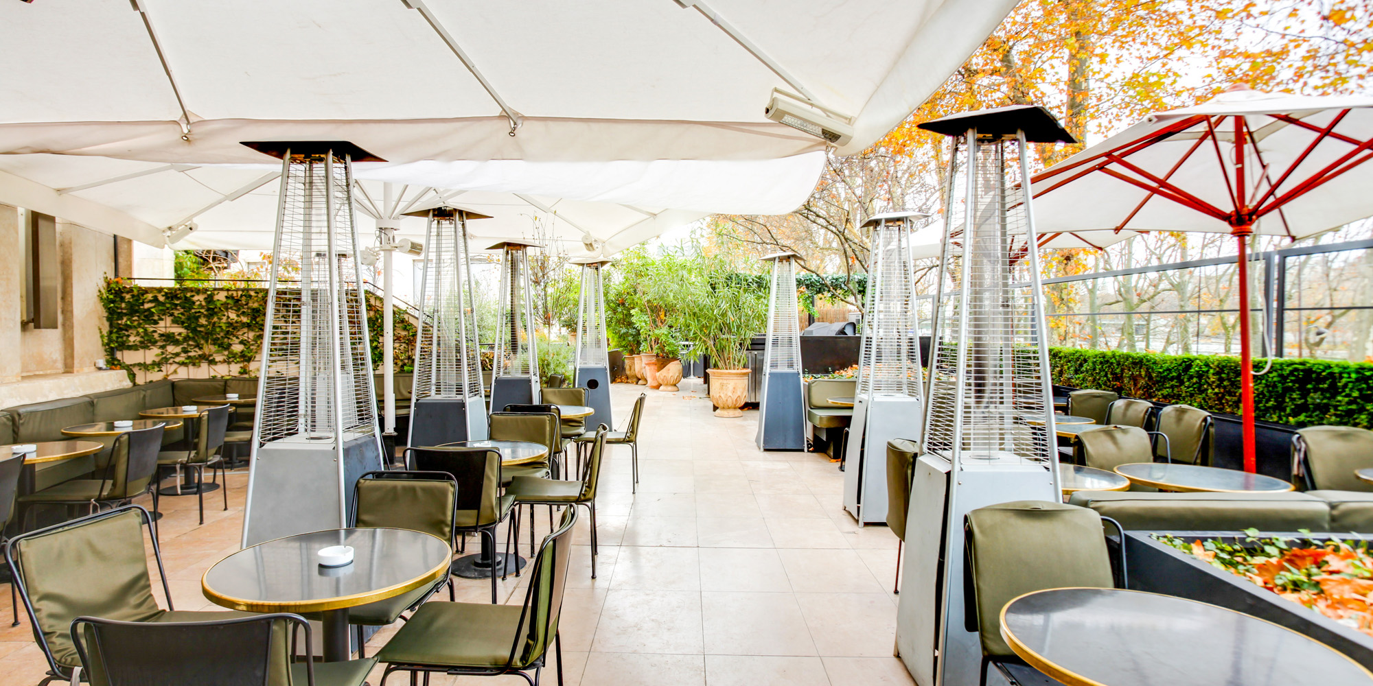 Brunch Paris Terrasse Brunch Monsieur Bleu 75016 Paris Oubruncher