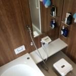 浴室上から撮影