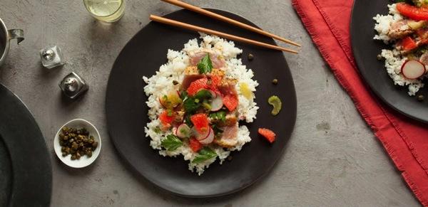 Seared Tuna Chirashi