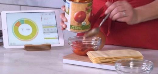 料理好きのiPadユーザーは注目!食材の栄養バランスも教えてくれる賢いクッキングスケール「Prep Pad」