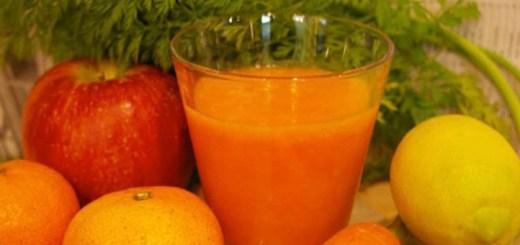 秋のオレンジスムージーの作り方