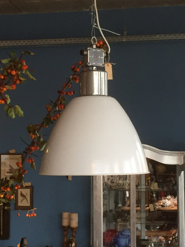 Witte lamp 1