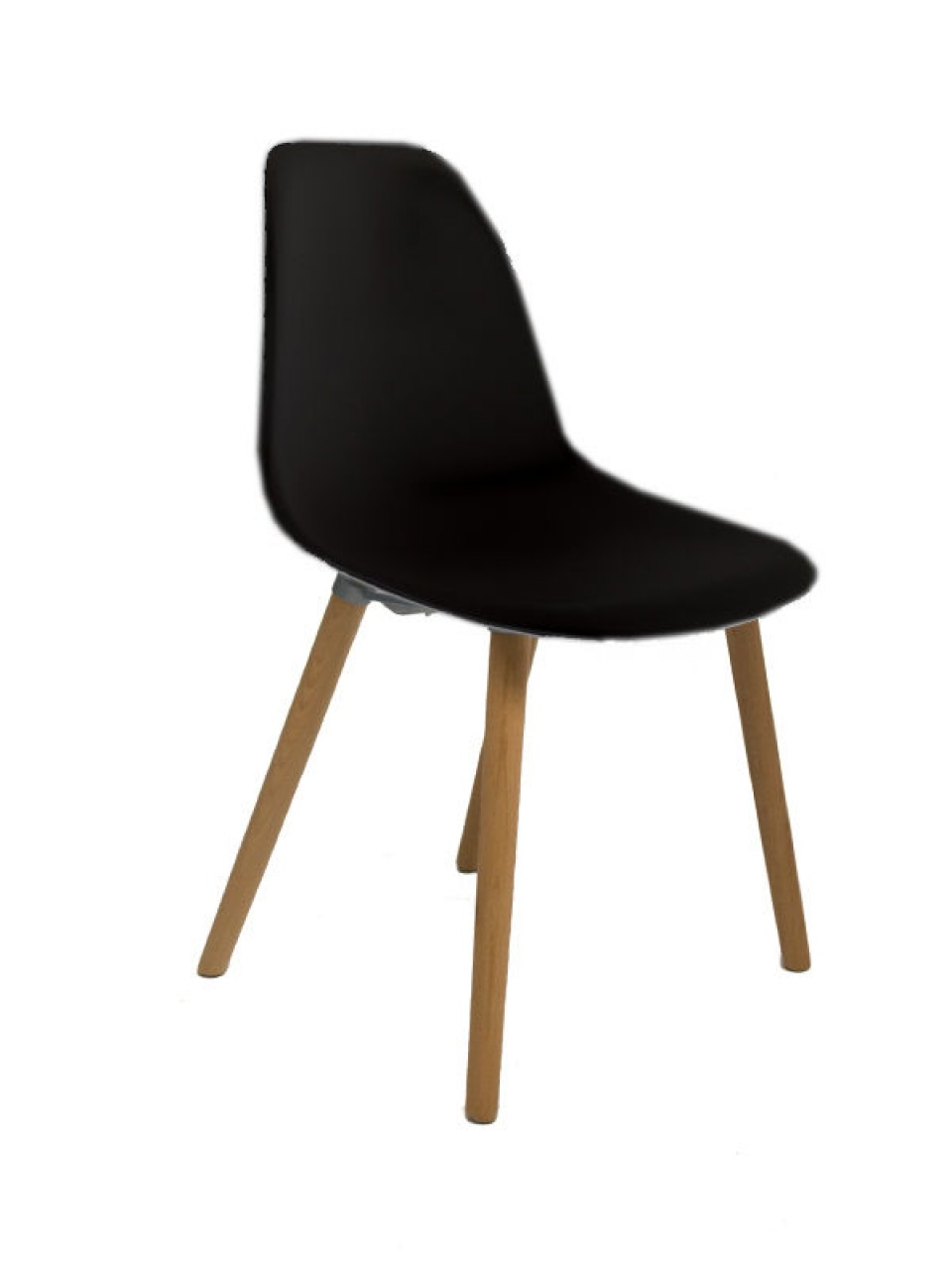 Sillas Tower Silla Tower Wood Negra