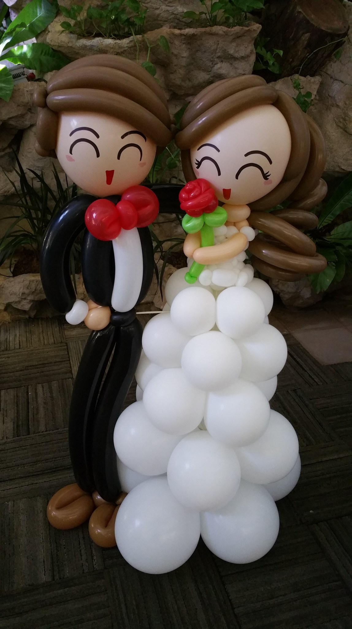 , Another wedding balloon decoration!, Singapore Balloon Decoration Services - Balloon Workshop and Balloon Sculpting