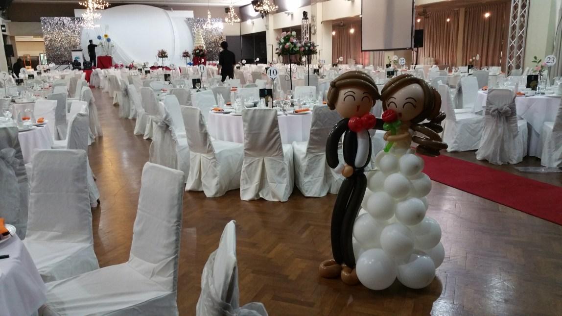 Another wedding balloon decoration singapore balloon for Balloon decoration for wedding malaysia
