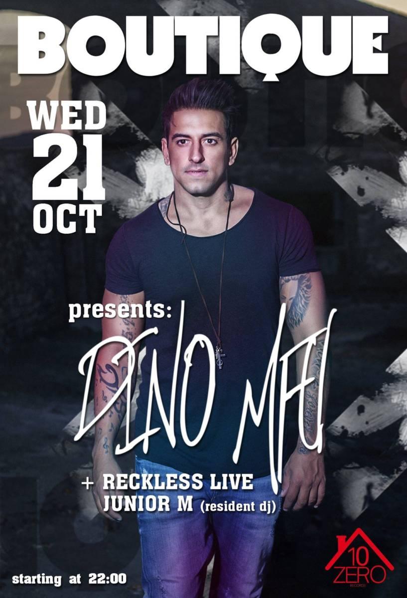 Dino MFU @ Boutique bar στην Πτολεμαΐδα, την Τετάρτη 21 Οκτωβρίου