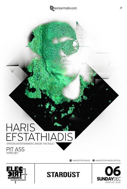 Haris Efstathiadis @ Stardust All Day Bar στην Καστοριά, την Κυριακή 6 Δεκεμβρίου