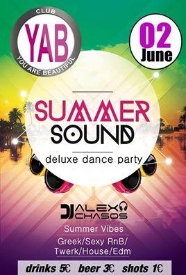 Summer sound @ YAB club στην Φλώρινα, την Πέμπτη 2 Ιουνίου