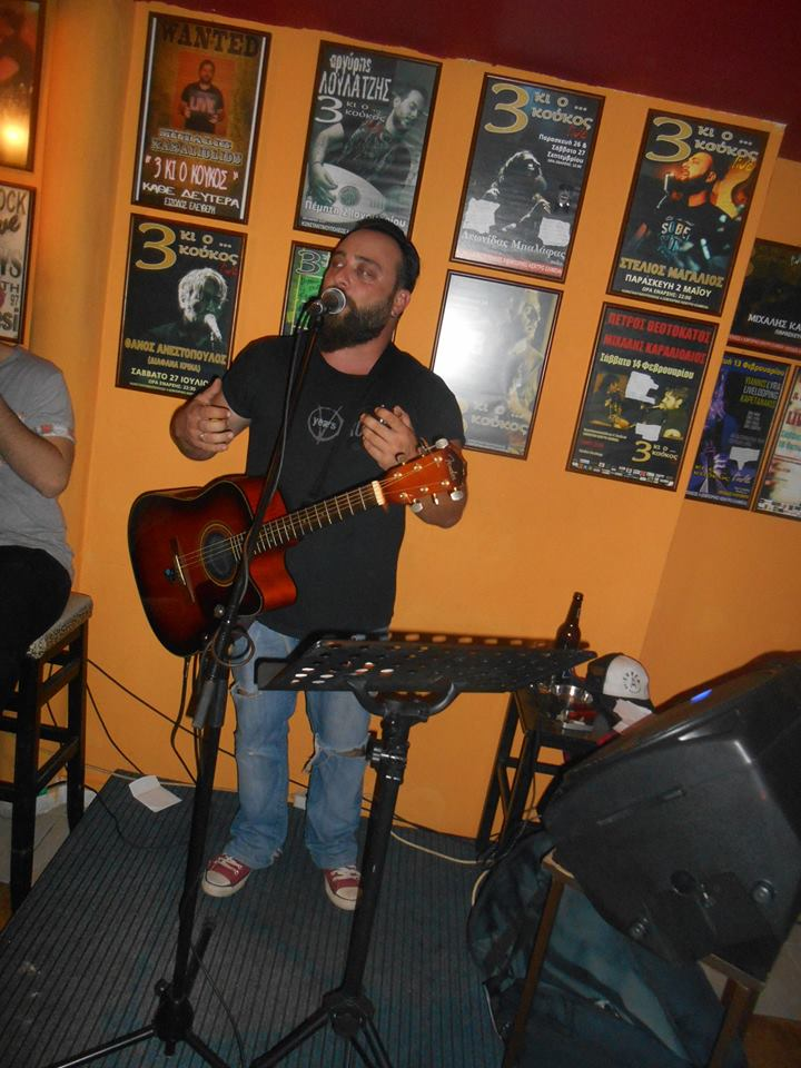 Φωτογραφίες από την εμφάνιση του Στέλιου Μαγαλιού  στο bar «3 κι ο Κούκος» στα Γρεβενά, την Παρασκευή 20 Μαΐου