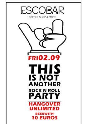 Hangover party στο Esco Bar στην Κοζάνη, την Παρασκευή 2 Σεπτεμβρίου