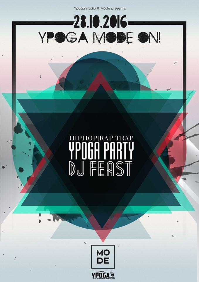 Ypoga party @ Mode bar στην Κοζάνη, την Παρασκευή 28 Οκτωβρίου
