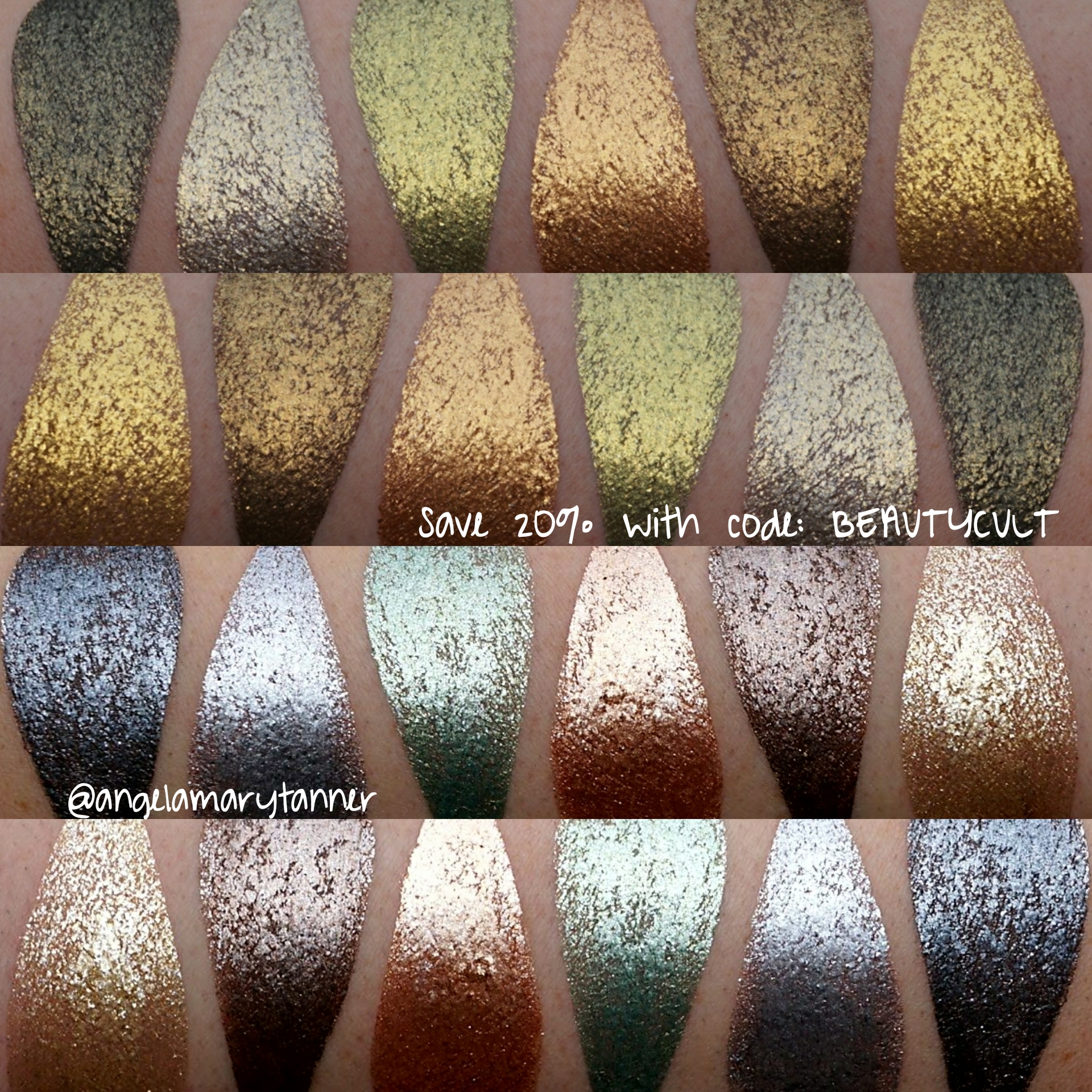 Lit Metal Huge Lit Cosmetics Glitter Swatch Fest Our Beauty Cult