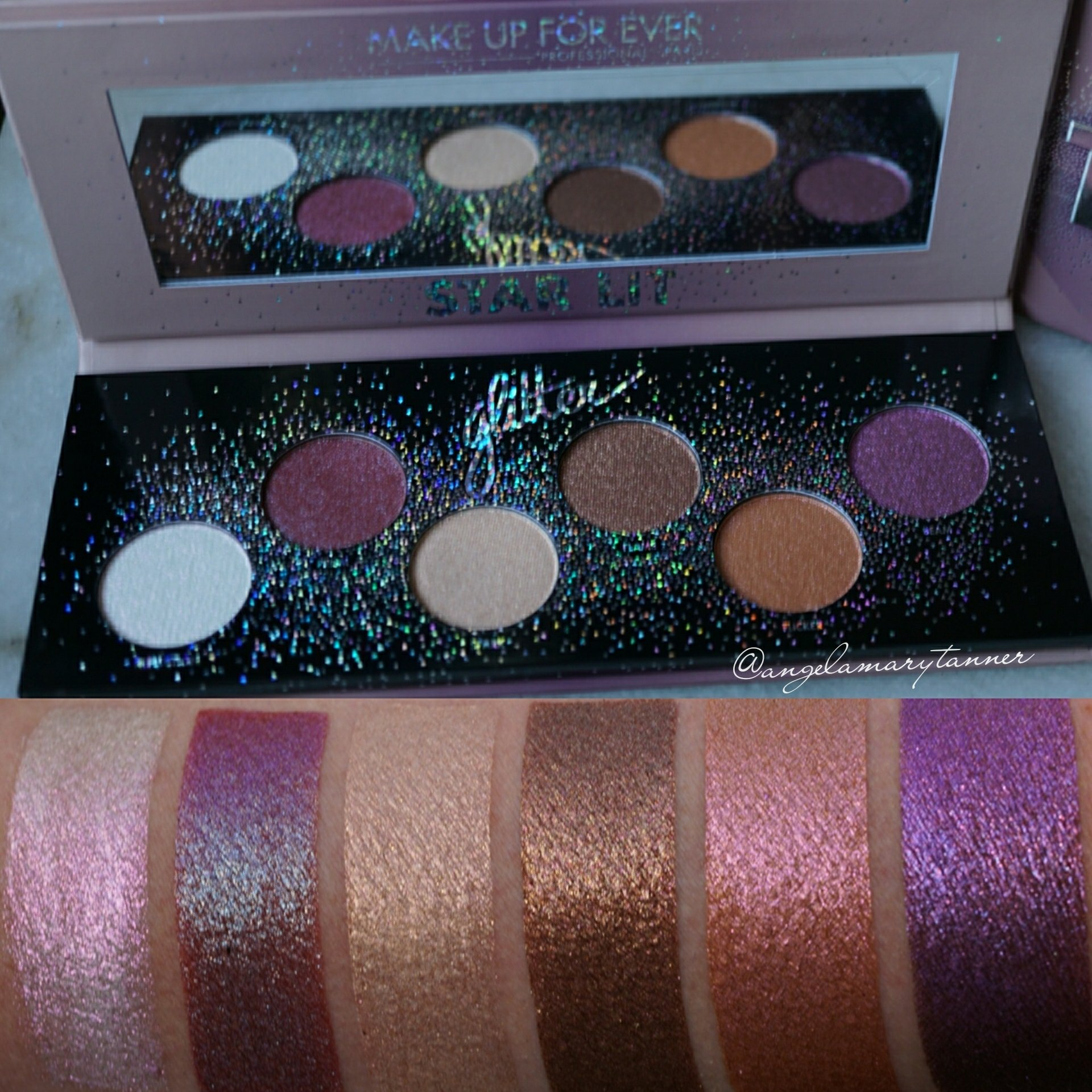 Lit Palette Make Up For Ever Star Lit Palette Review Swatches And Possible