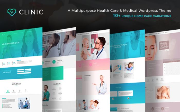 Top 10 Best Premium Medical WordPress Themes To Build Your