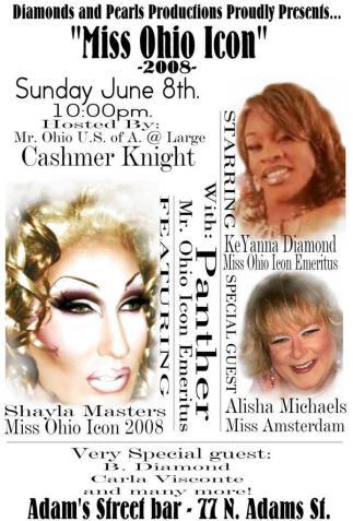 Miss Ohio Icon | Adams Street Bar (Akron, Ohio) | 6/8/2008