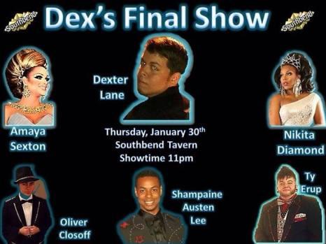 Dex's Final Show   Southbend Tavern (Columbus, Ohio)   1/30/2014