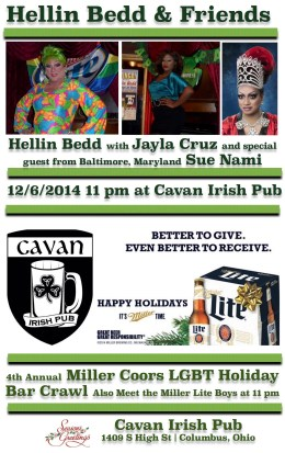 Show Ad | Cavan Irish Pub (Columbus, Ohio) | 12 /6/2014