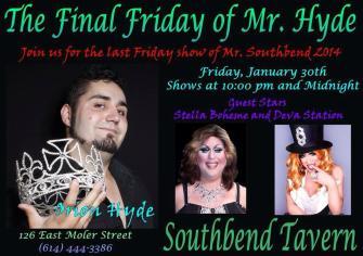 Show Ad | Southbend Tavern (Columbus, Ohio) | 1/30/2015