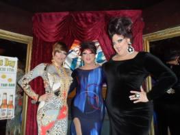 Samantha Rollins, Hellin Bedd and Vivian Von Brokenhymen at Cavan Irish Pub (Columbus, Ohio)