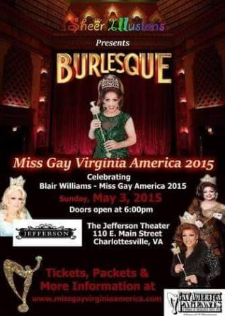 Show Ad   The Jefferson Theater (Charlottesville, Virginia)   5/3/2015