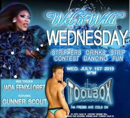 Show Ad | Toolbox Saloon (Columbus, Ohio) | 7/1/2015