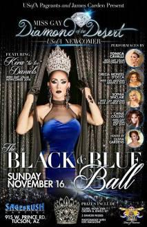 Show Ad | Miss Gay Diamond of the Desert USofA Newcomer | Sagebrush Cantina (Tucson, Arizona) | 11/16/2014