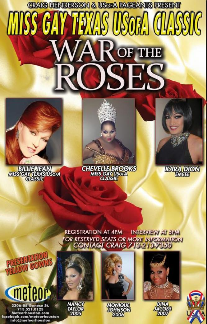 Show Ad | Miss Gay Texas USofA Classic | Meteor (Houston, Texas) | 4/12/2015