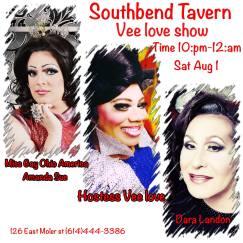 Show Ad | Southbend Tavern (Columbus, Ohio) | 8/1/2015