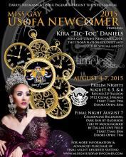 Show Ad | Miss Gay USofA Newcomer | Dallas, Texas | 8/4-8/7/2015
