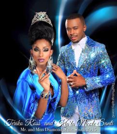 Kia'la Nicole Santi and Teriko Ross St. James - Photo by Tios Photography