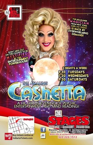 Show Ad | The Red Room Cabaret (Puerto Vallarta, Mexico) | February - March 2015