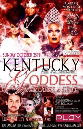 Show Ad | Kentucky All American Goddess & Gent Pageantry | 10/25/2015