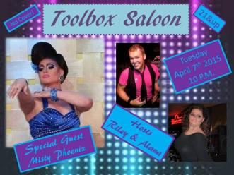 Show Ad   Toolbox Saloon (Columbus, Ohio)   4/7/2015