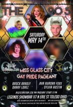 Show Ad | Miss Glass City Gay Pride | Legends Showbar (Toledo, Ohio) | 5/14/2016
