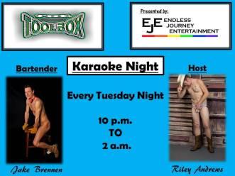 Show Ad   Toolbox Saloon (Columbus, Ohio)   4/14/2015