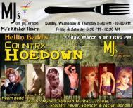 Show Ad | MJ's on Jefferson (Dayton, Ohio) | 3/4/2016