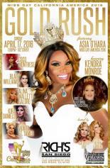 Show Ad | Miss Gay California America | Rich's (San Diego, California) | 4/17/2016