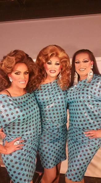 Grecia Montes D'Occa, Tara Dion and Kara Dion